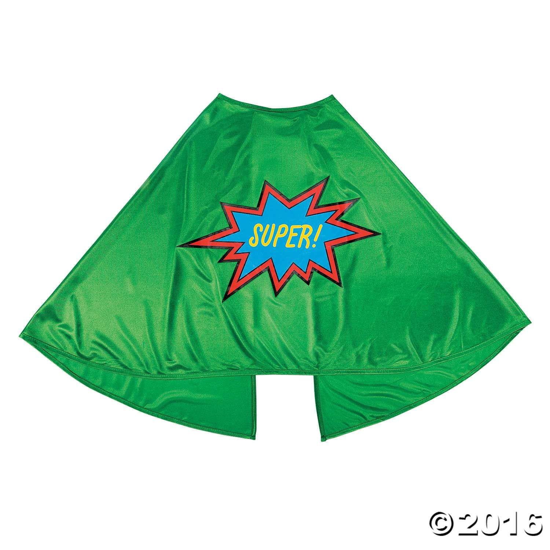 Green graduation superhero cape superhero capes