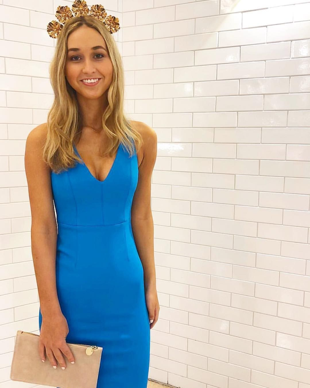 Colour crush 💙 Get Race Ready in the Blanca Dress 30e28c2f9