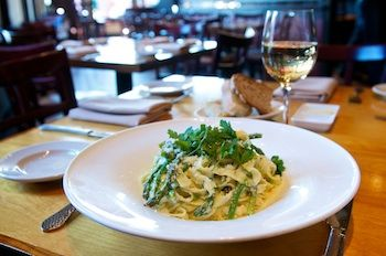 Chef Kidd shares his gourmet entree recipe for Homemade Fettuccine with Plugra Ricotta Sauce, made with Plugra Butter. (saveur.com)