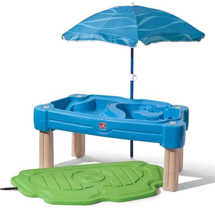 Step2 Cascading Cove Sand Water Table With Umbrella Sand