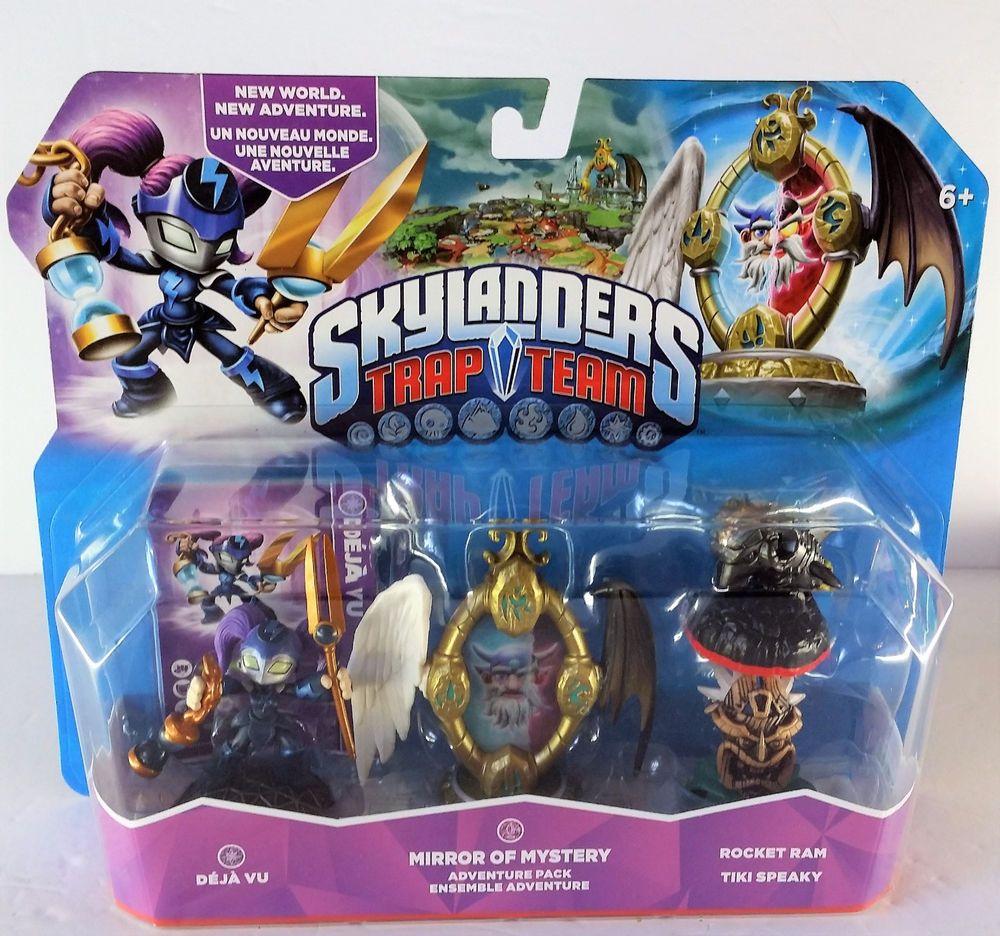 Skylanders Trap Team Mirror Of Mystery Level Pack 2 Universal Activision Skylanders Trap Team Skylanders Mystery