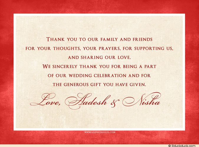 messages for wedding thank you notes invitation sample thanking - bridal shower invitation samples