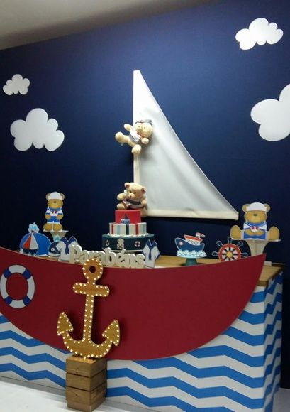 Festa marinheiro ideais cumple infantil pinterest babies festa marinheiro ideais altavistaventures Image collections
