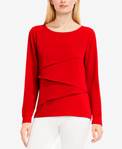 54.99$  Watch now - http://viuhh.justgood.pw/vig/item.php?t=8x5kri324623 - Asymmetrical Layered Blouse