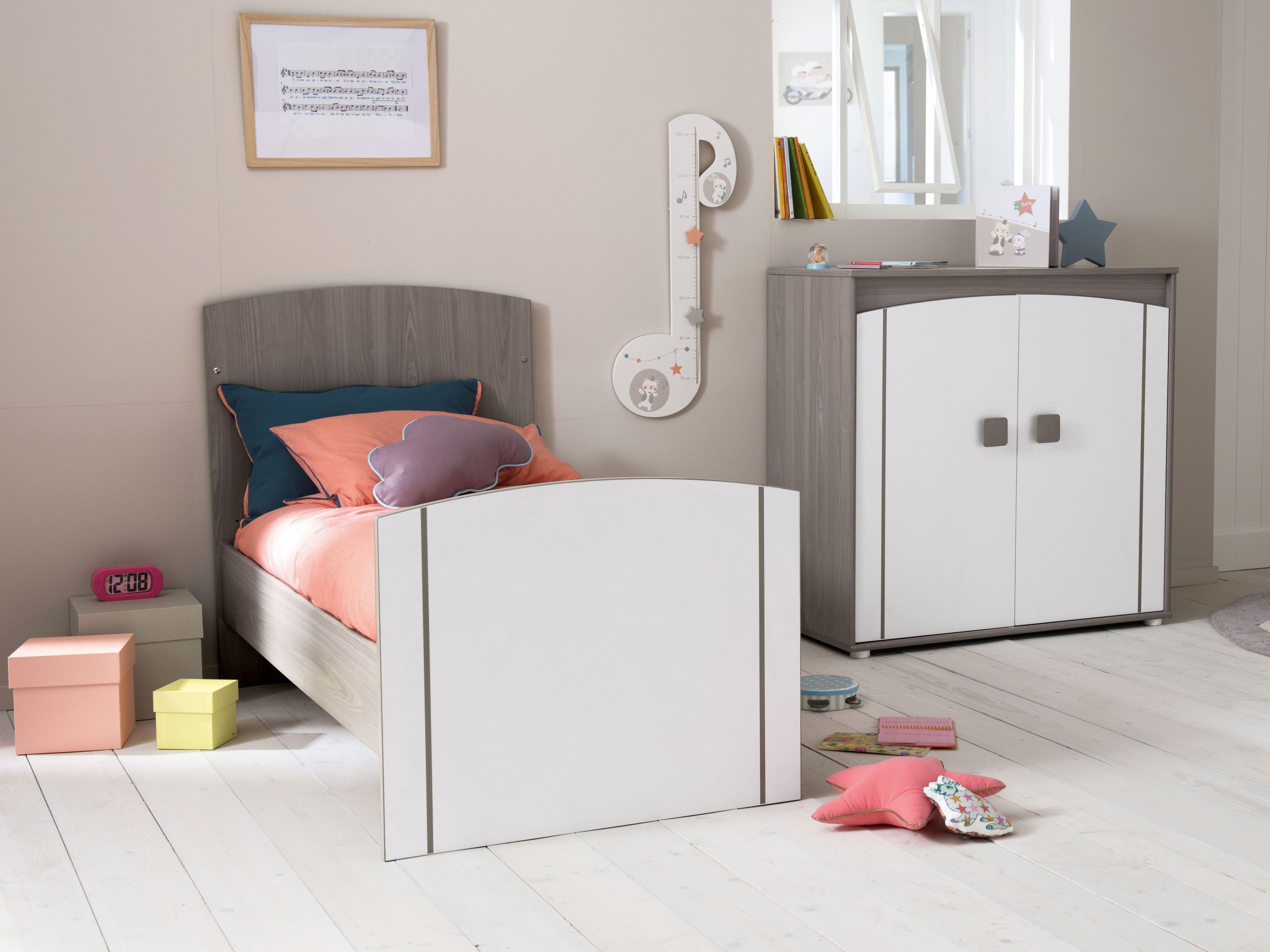 Chambre Jules lit transformable en lit jeune enfant 70 x 140 cm