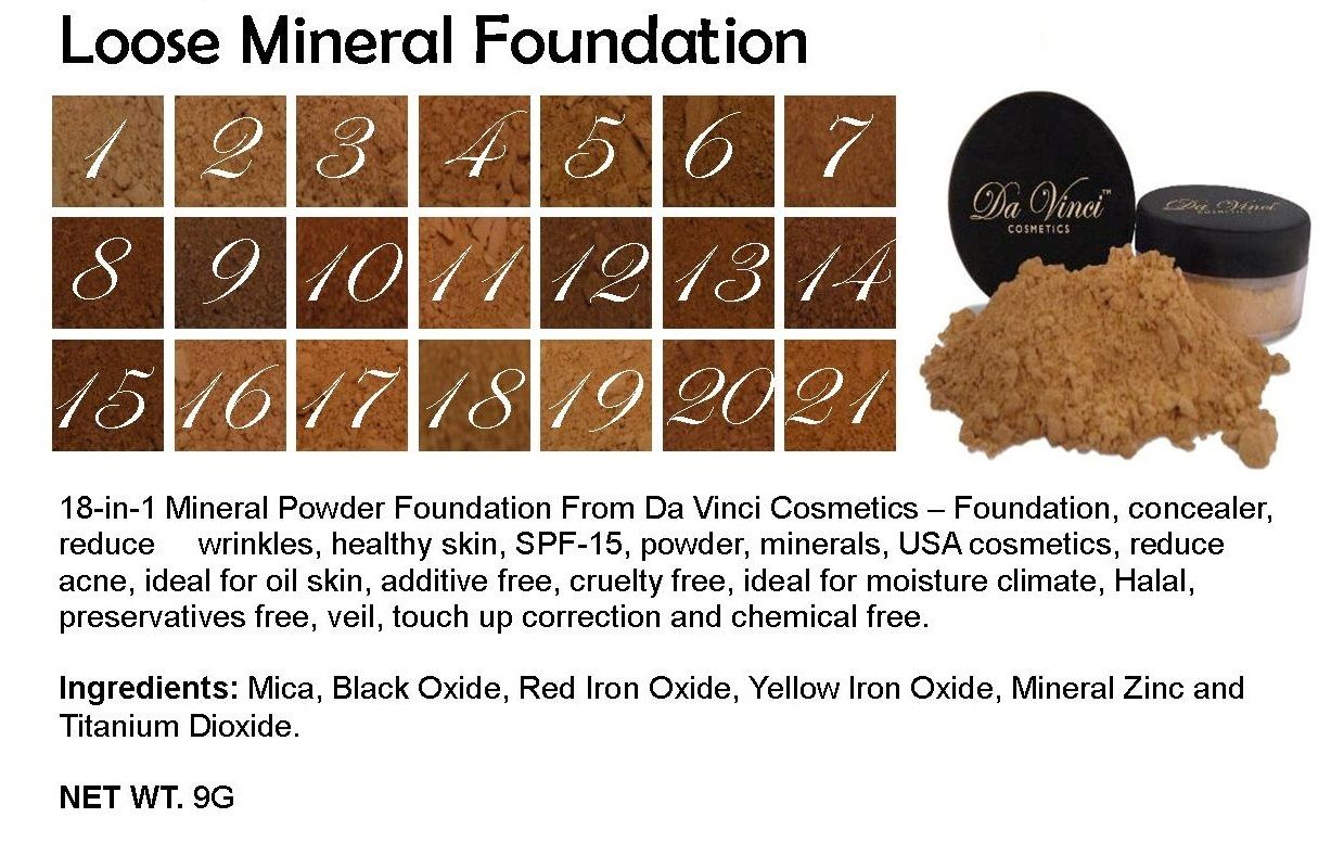 Pin on Mineral Makeup Brands