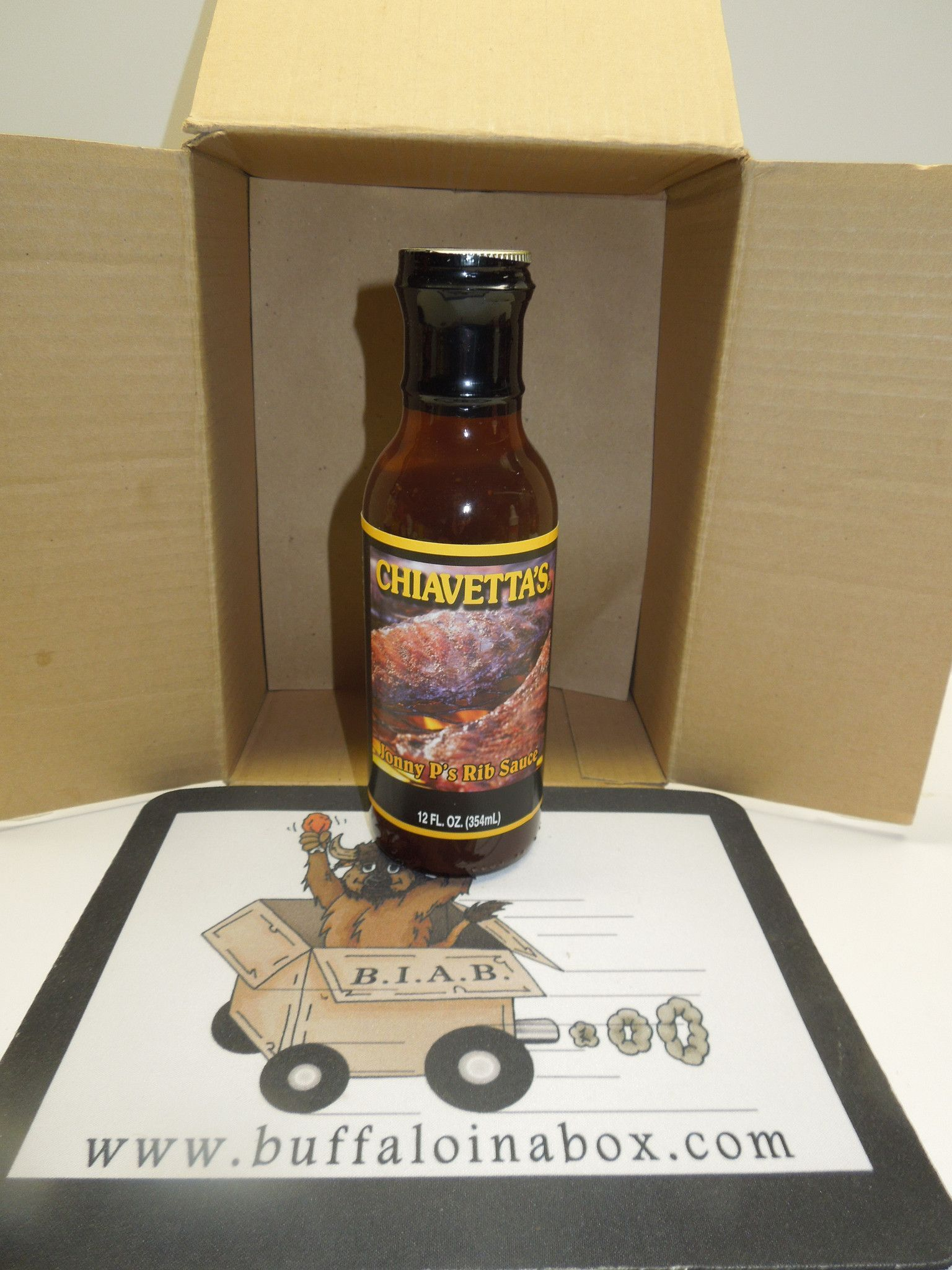 Buffalo's Own Chiavetta's Rib Barbecue Sauce- 12oz (BBQ)