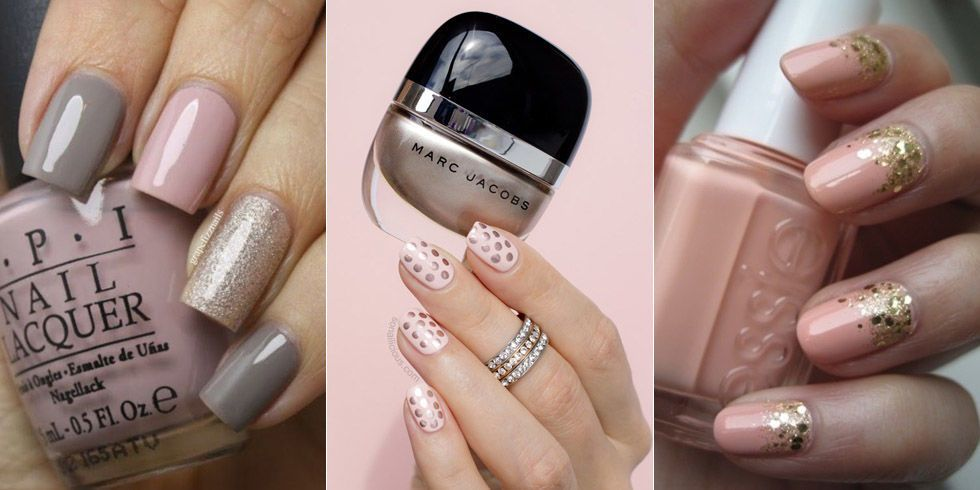 10 Ways to Wear the Season\'s Hottest Nail Color | Pale pink nails ...