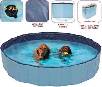 CROCI Dog Swimming Pool Explorer 120 x 30 cm Dog