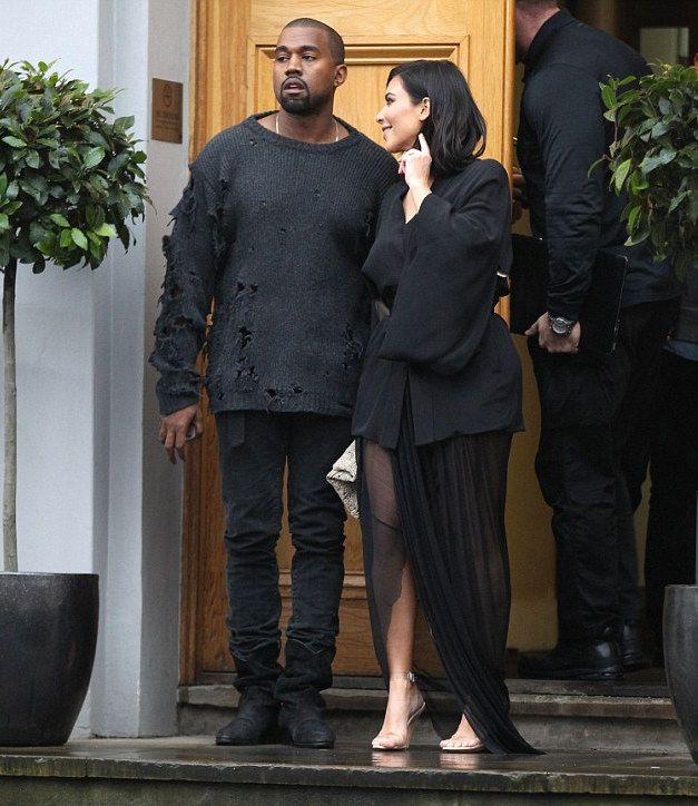 Kanye West Wears Adidas X Yeezy Season 1 Ripped Sweater Bbc 1