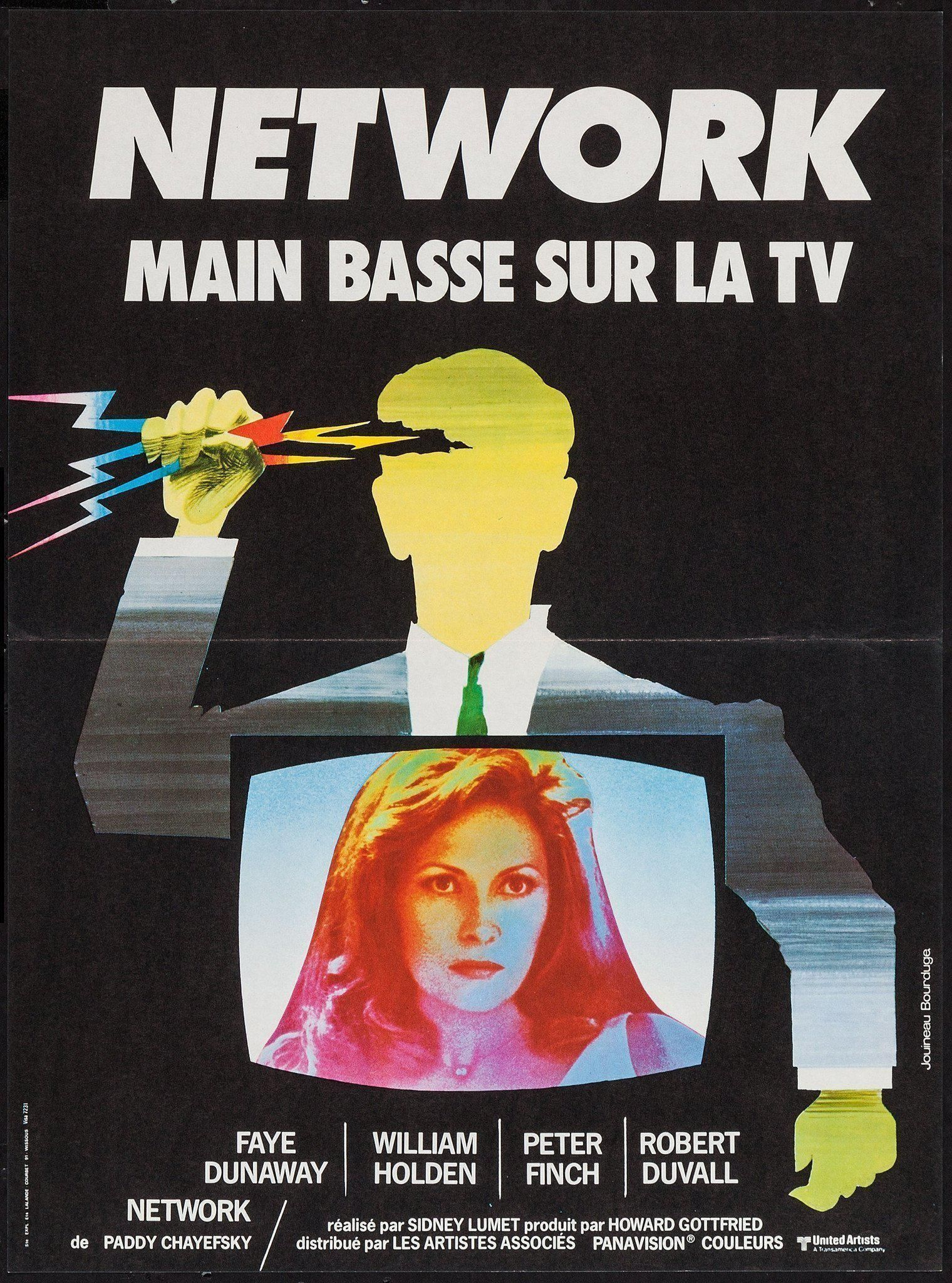 Network Vintage Movie Poster French mini (16x23