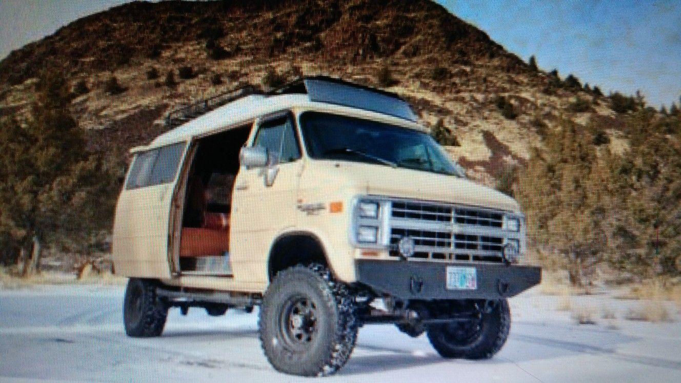 1985 Chevy g20 4x4  For sale ebay | cool 4x4 vans | 4x4 van