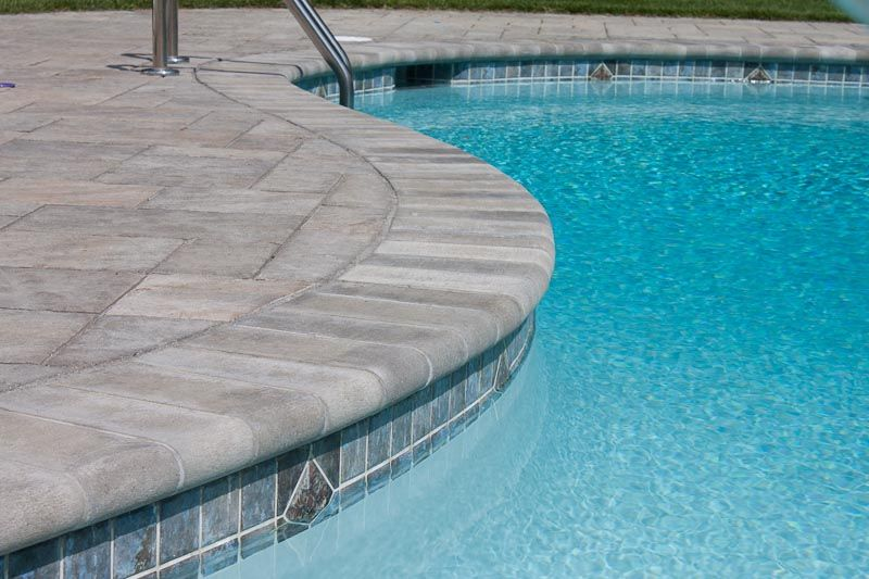 Samples of pool coping pool coping 4 pool in 2019 pinterest swimming pool designs for Paint for inground swimming pool coping