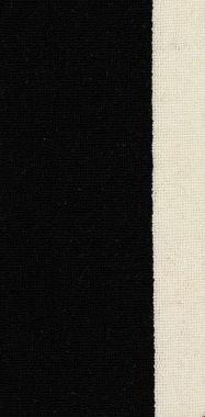 "Black on White striped ""Black & White"" carpet border"
