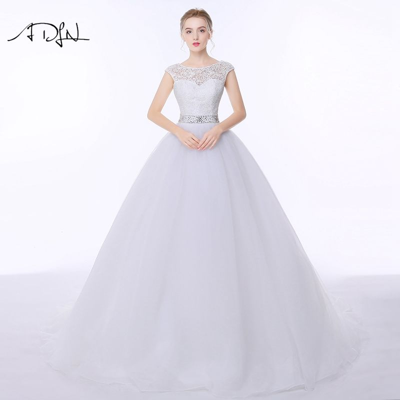 Find More Wedding Dresses Information about ADLN Lace Wedding ...