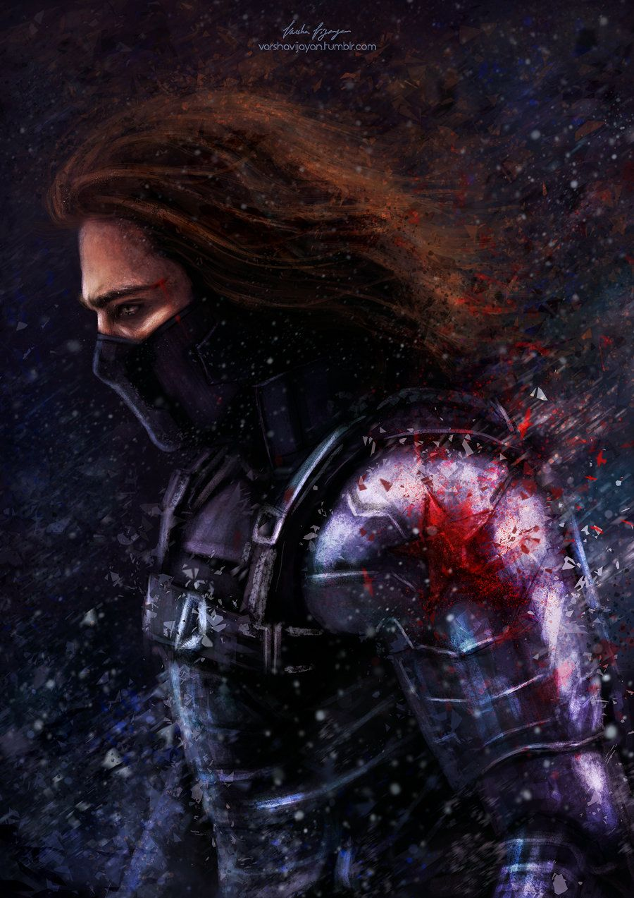 The Winter Soldier., Varsha Vijayan on ArtStation at http://www.artstation.com/artwork/the-winter-soldier