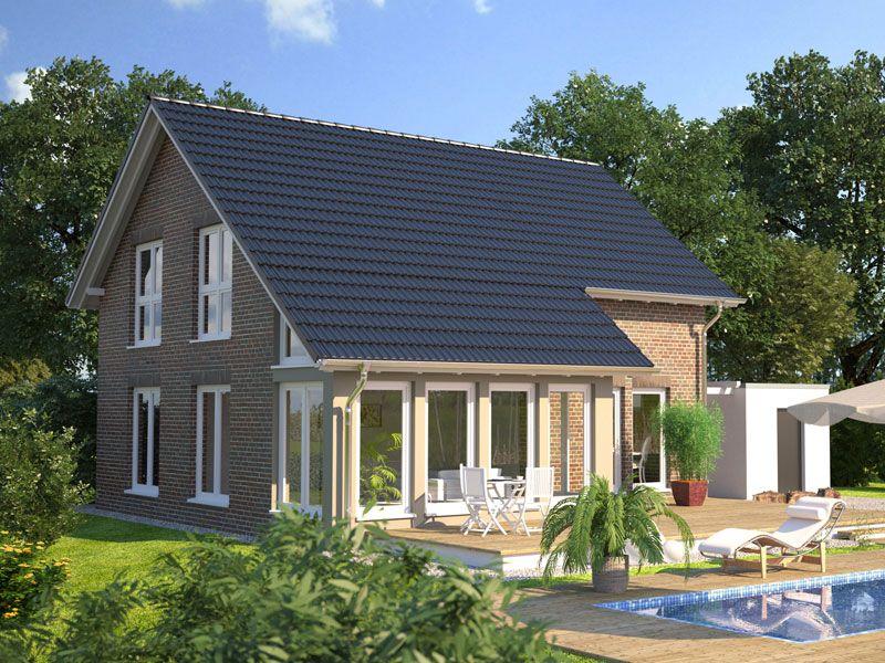 Hanlo Klinkerhaus Living 139 Gartenansicht ---> Zahlreiche Wohnideen ...