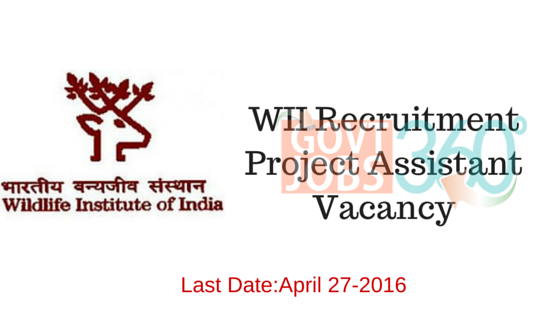WII Recruitment – Project Assistant Vacancy-April 27-2016-