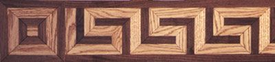 wood floor inlay design | ... , wood floor borders, floor corners, relief carvings, floor inlays