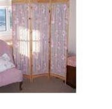 Diy Room Divider You Make The Frame Then Hang Fabric Inside From