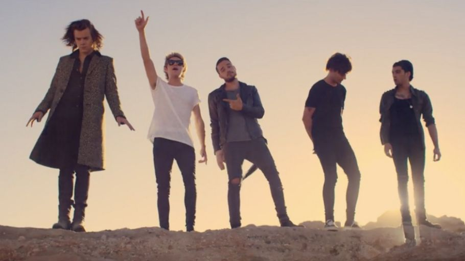 I listen to steal my girl 4 times yesterday today I am going to watch it some more yaaahhhh☺
