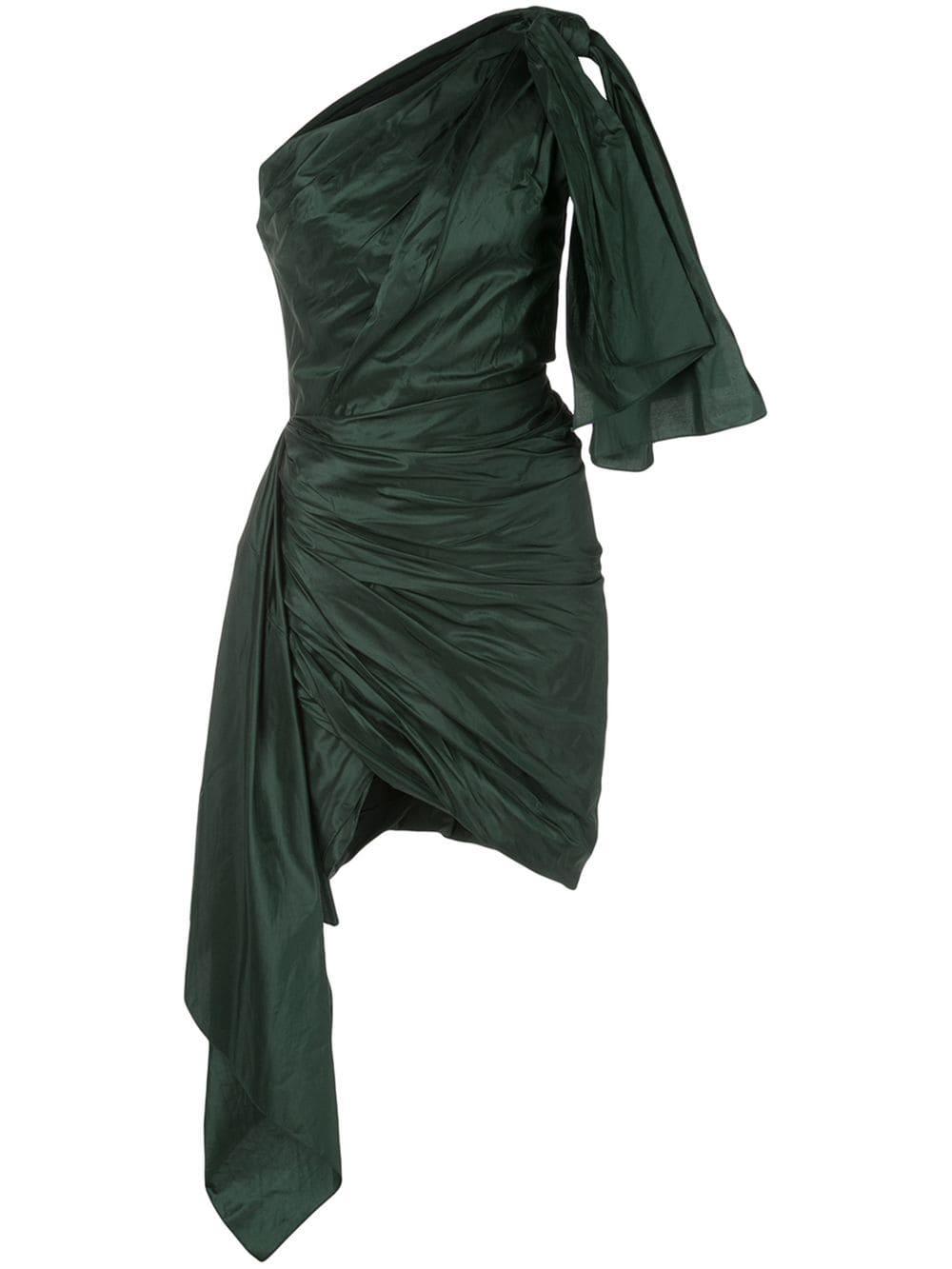 La A Ruched Structure Mini Dress