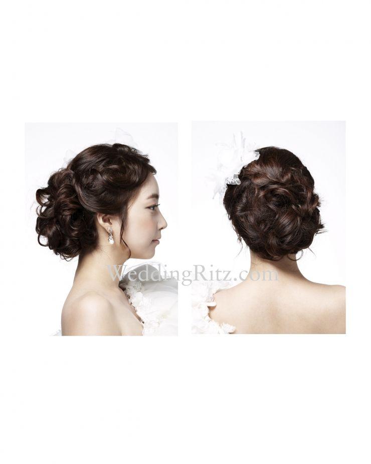 Korean With Images Hairdo Wedding Bridesmaid Hair Bridal Hair