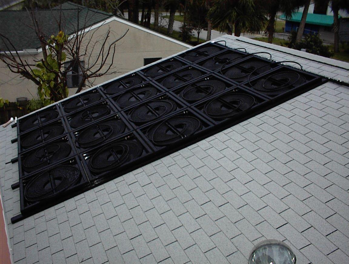 My Homemade Solar Pool Heater Solar pool heater diy