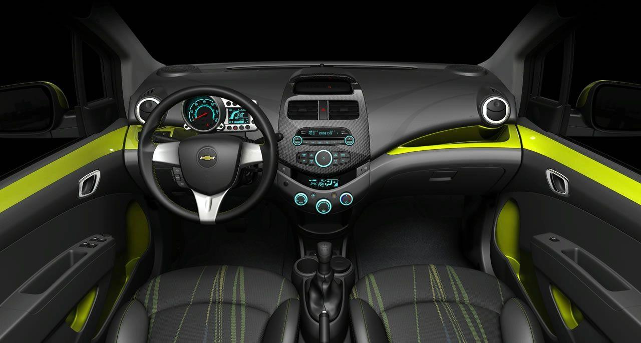 Fotos Chevrolet Spark Interior Autos Transporte