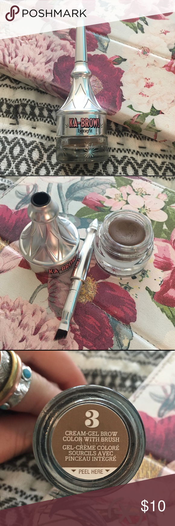 """Benefit """"KABROW"""" Cream Gel Brow Color With Brush Brow"""