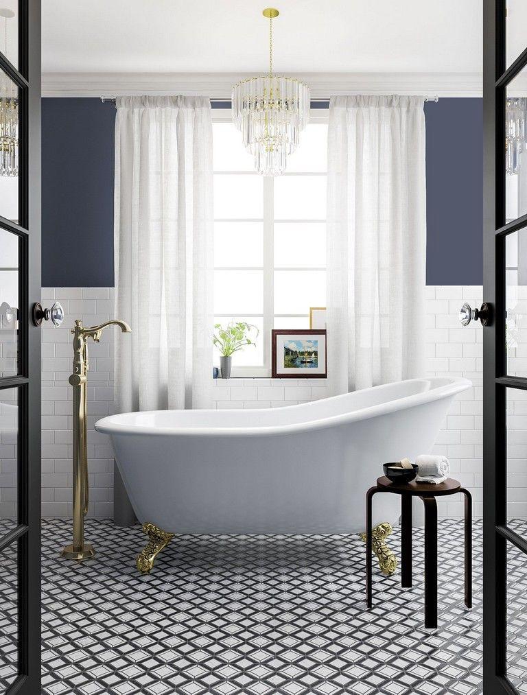 39 Elegant Farmhouse Master Bathroom Remodel Ideas Farmhousebathroom Bathroomremodel Bathroomideas