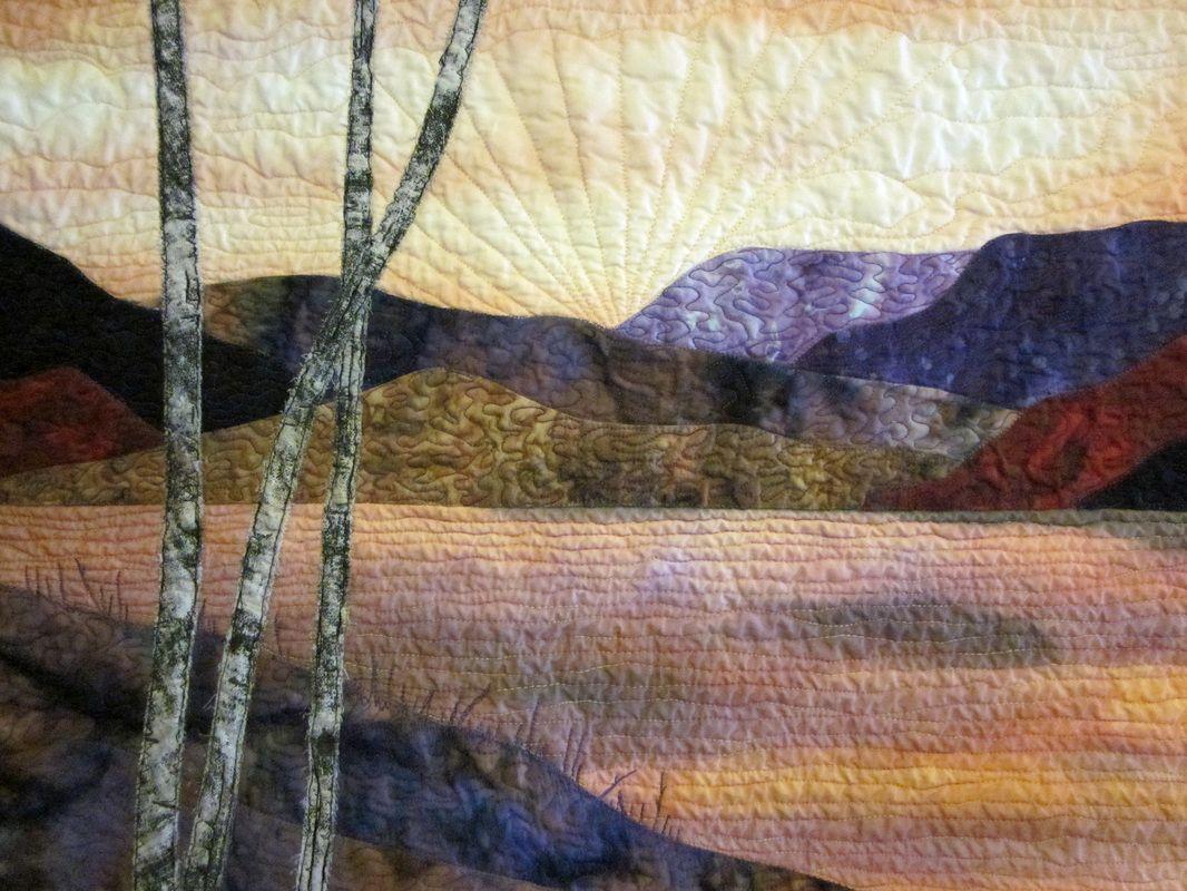 Pictorial Quilting Techniques | Landscape quilts, Landscaping and ... : pictorial quilts technique - Adamdwight.com