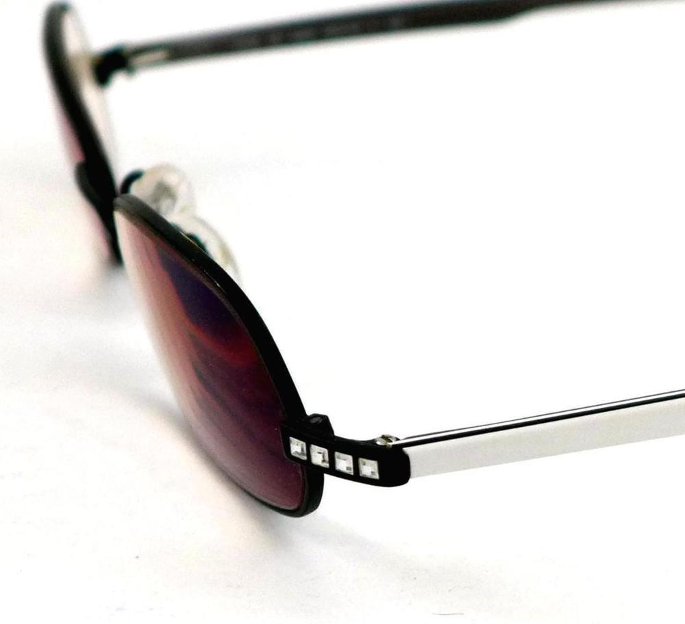 Daniel Swarovski Austrian Crystal Eyeglass Frame S136 50-19-130 ...
