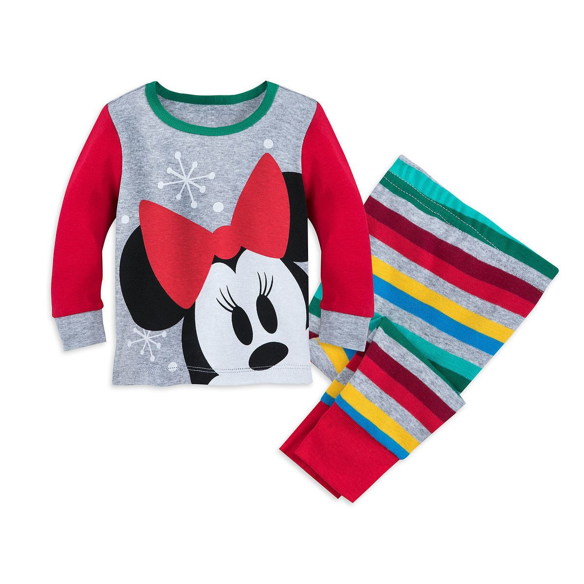 6-9 mo Shop Disney Mickey Mouse Holiday PJ Pals Set For Baby