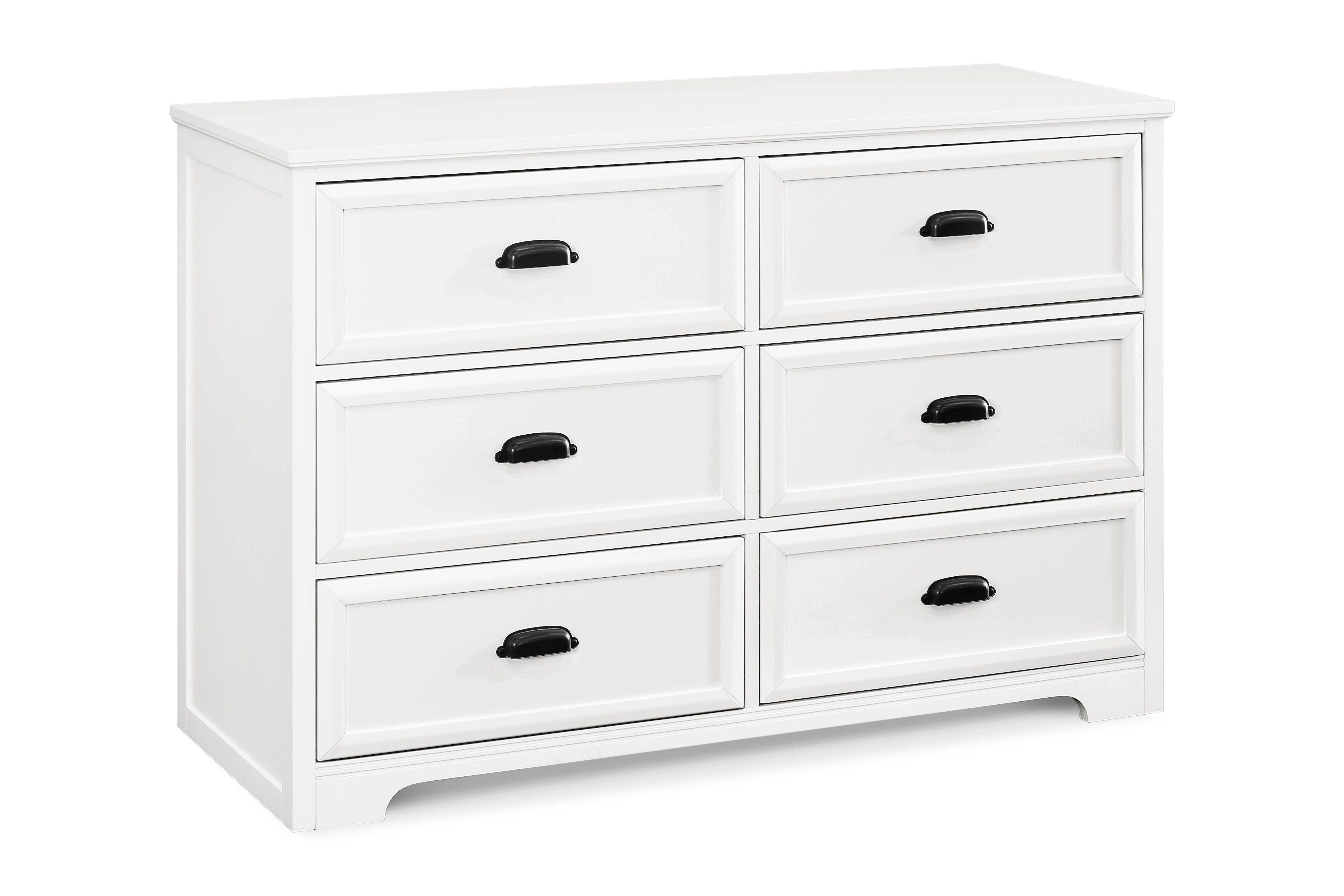 Homestead 6 Drawer Double Dresser In 2021 Double Dresser At Home Store Dresser [ 3333 x 5000 Pixel ]