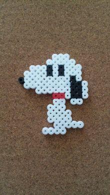 Snoopy Perler Beads Steckperlen Pinterest Bügelperlen