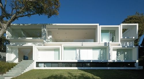 house at balmoral beach ~ collins and turner architects