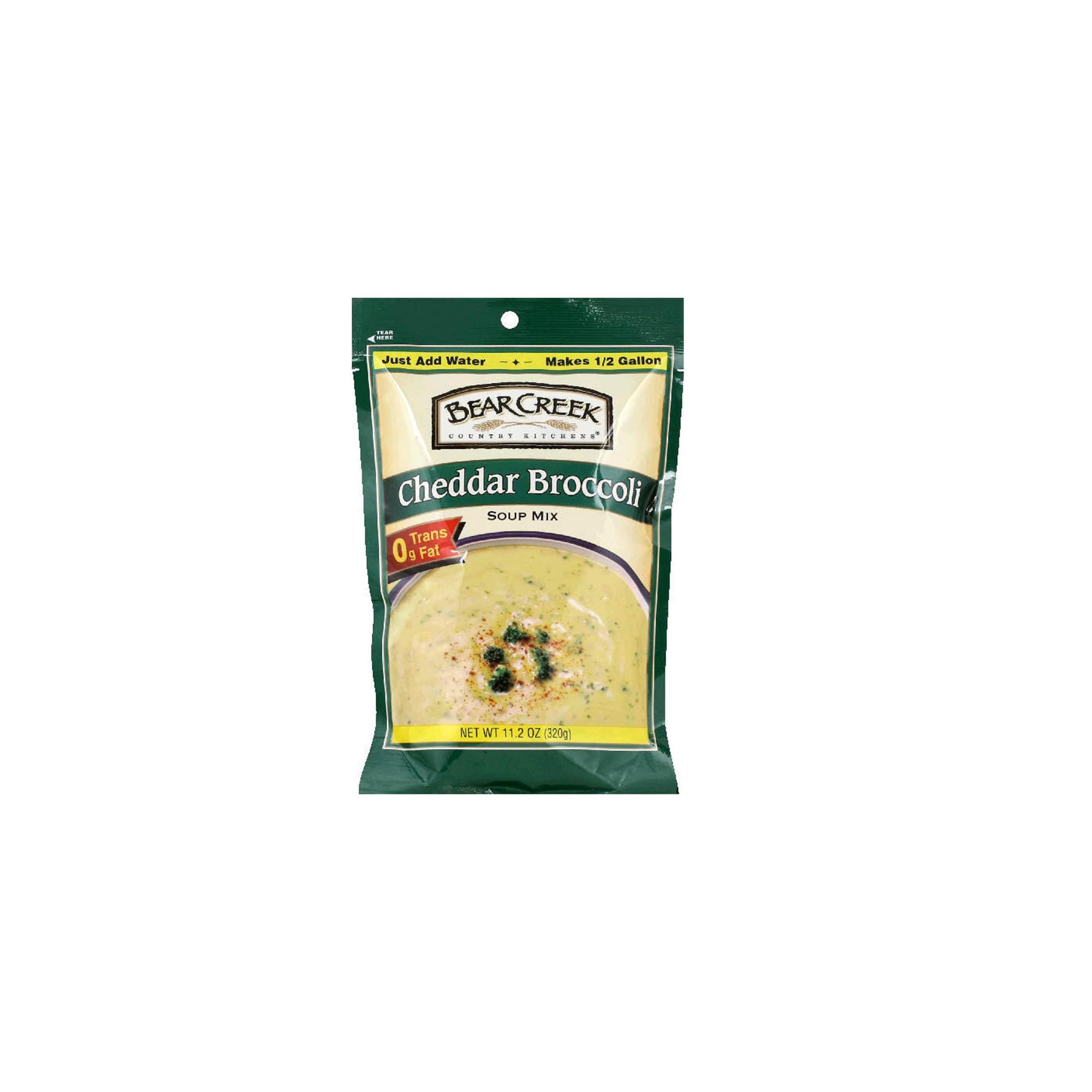 Bear Creek Country Kitchens Cheddar Broccoli Soup Mix 11.2