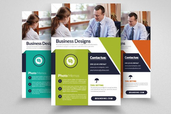 Business Strategy Flyer Template Creativework  Templates