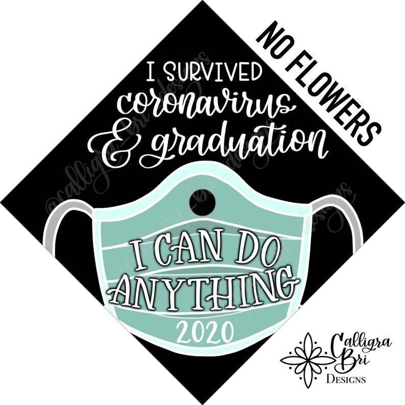 Grad Cap Topper Graduation gift Tassel custom grad quote grad | Etsy