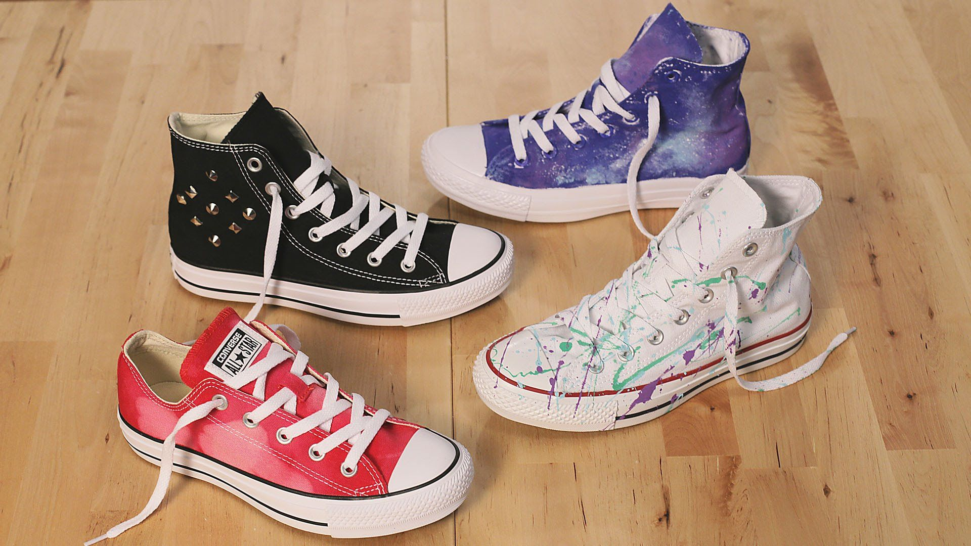 5b3b72ac639 DIY Ways to Customize Converse Part 2 | Famous Footwear
