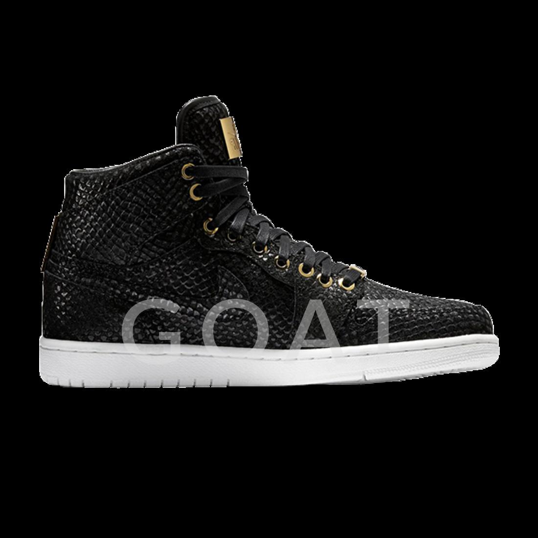 d38712b2ff9 Air Jordan 1 Retro High OG 'Pinnacle' - Air Jordan - 705075 030 - black/ black-metallic gold-white | GOAT