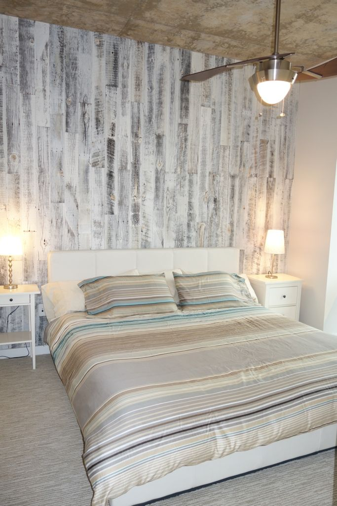 Stikwood Reclaimed Weathered Wood White Accent Wall L And Stick Modern Farm Houses
