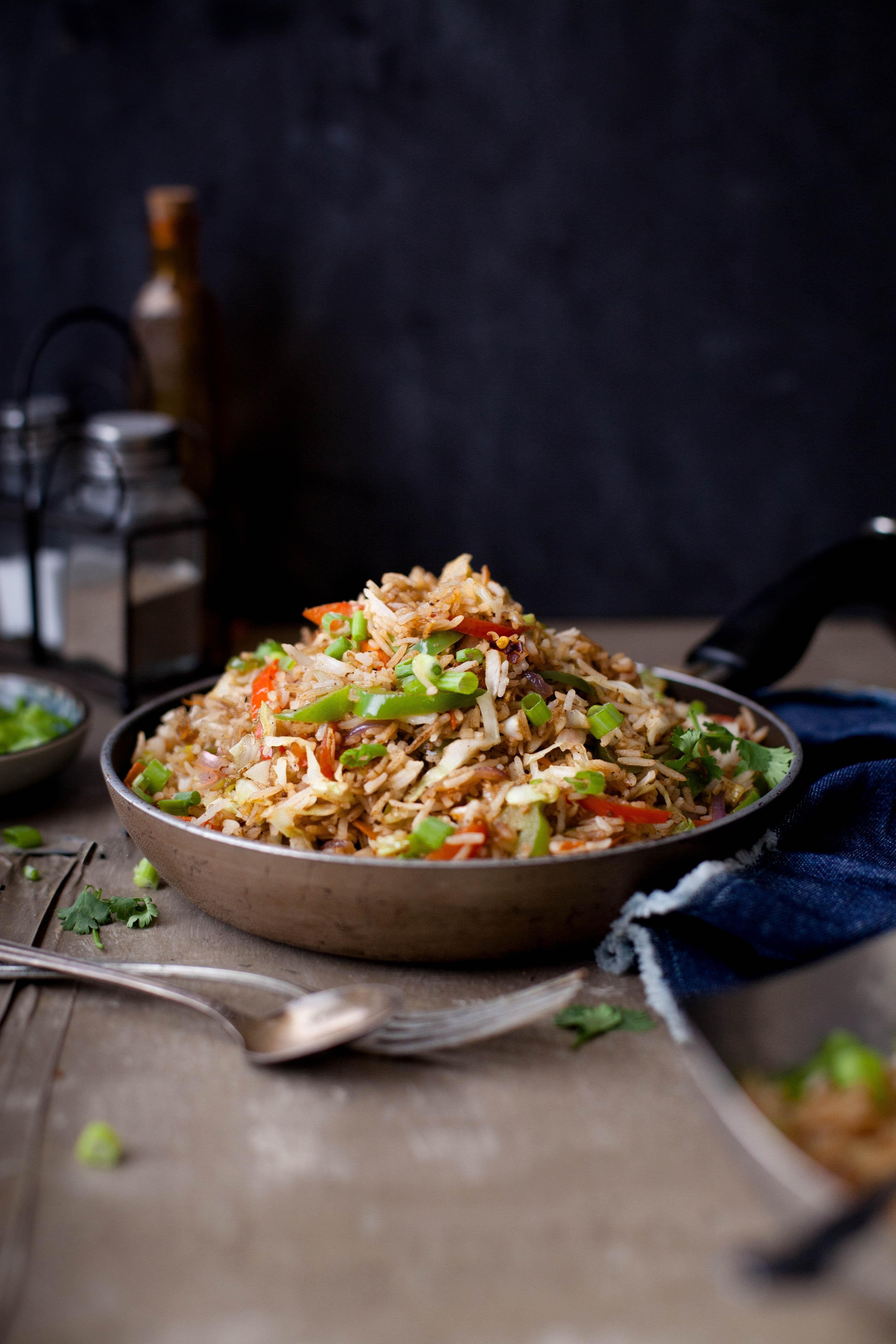Vegetable Fried Rice FoodBlogs Makanan dan minuman