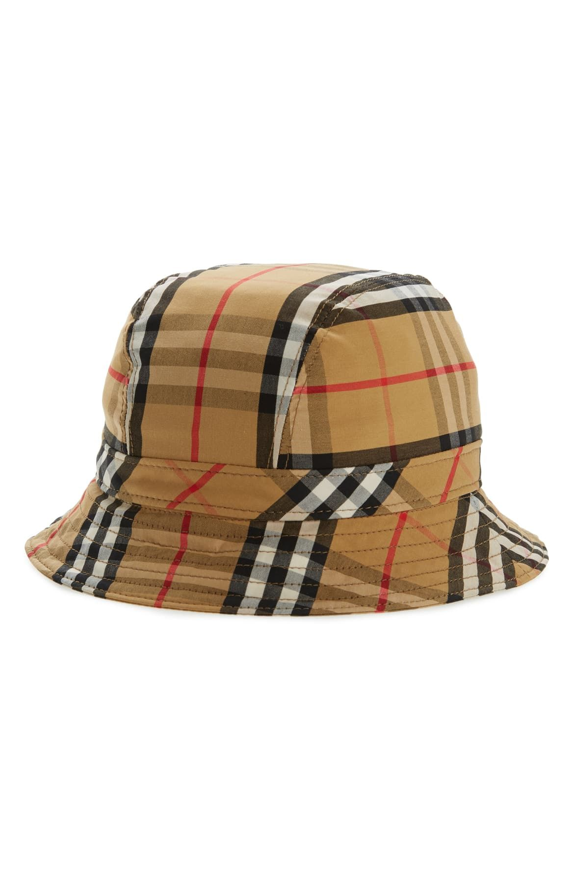 Burberry vintage check bucket hat with images burberry