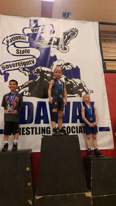 Stephanie Dawson‎ Idaho state 49 pound champion! Zuul