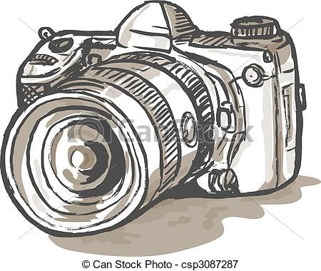 Dibujos De Camaras Reflex Buscar Con Google Dessin Appareil Photo Dessin Appareil Photo