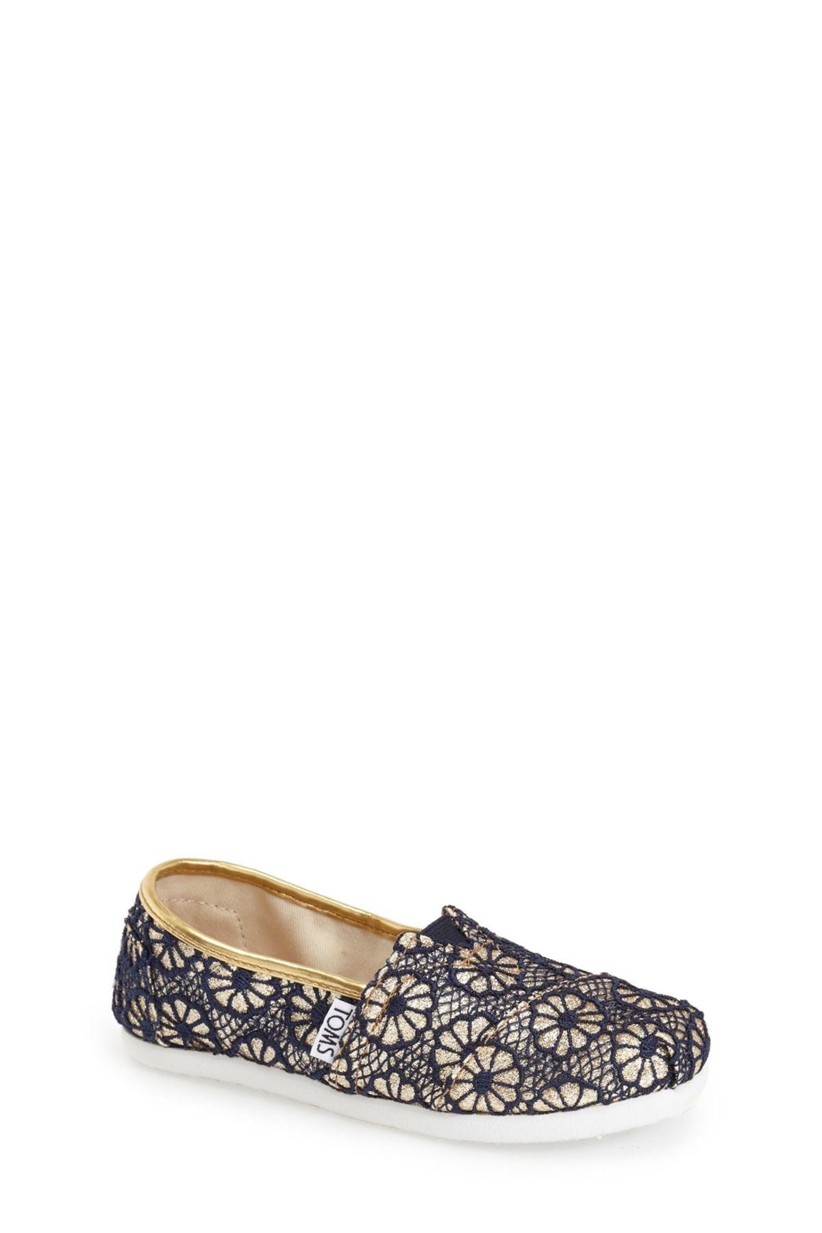 Crochet Glitter Slip-On Shoe (Little Kid & Big Kid)