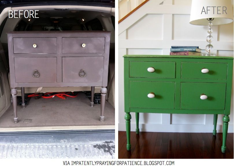 Top 15 Before After Furniture Re Makes Diy Inspiration