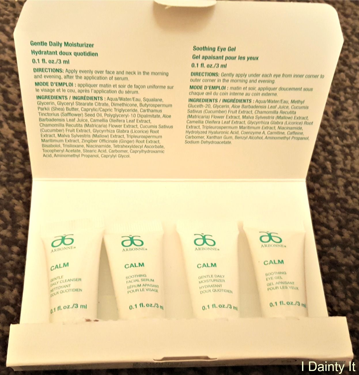 I Dainty It Arbonne Product Review Arbonne, Daily